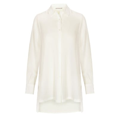 Longblouse - Champagner