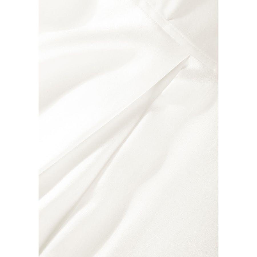 Silk-Blouse mit Hemdblusenkragen - Ivory