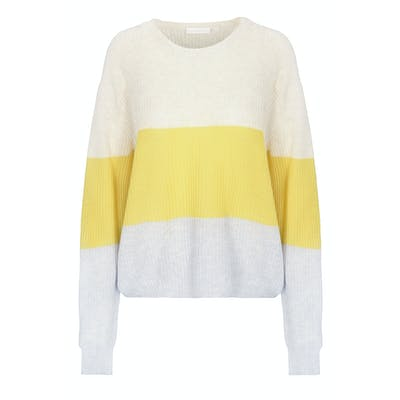 Pullover mit Colour-Blocking