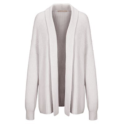 Cardigan mit offener Silhouette